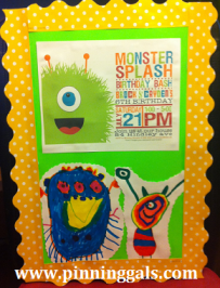 monster splash sign boys