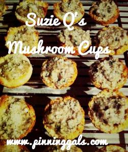 mushroom cups